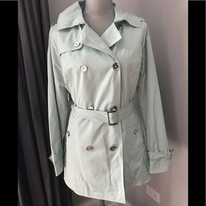 NEW Michael Kors Double-Breasted Trench Coat